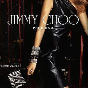 JIMMY CHOO H&M 5 Layer Chain Bracelet Cuff